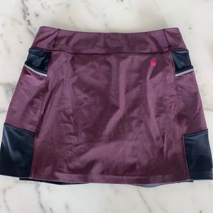 Terry bicycle skirt L
